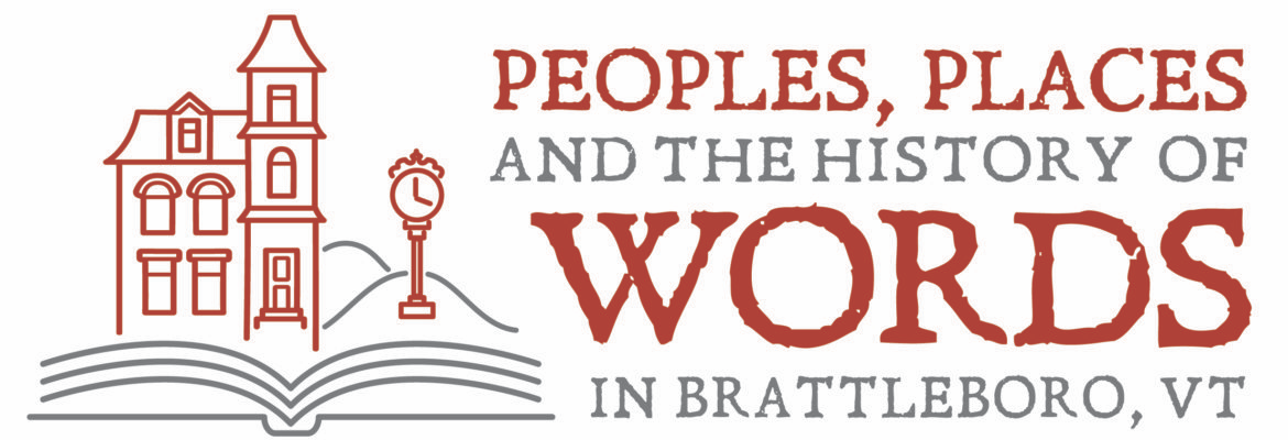 The Brattleboro Words Project