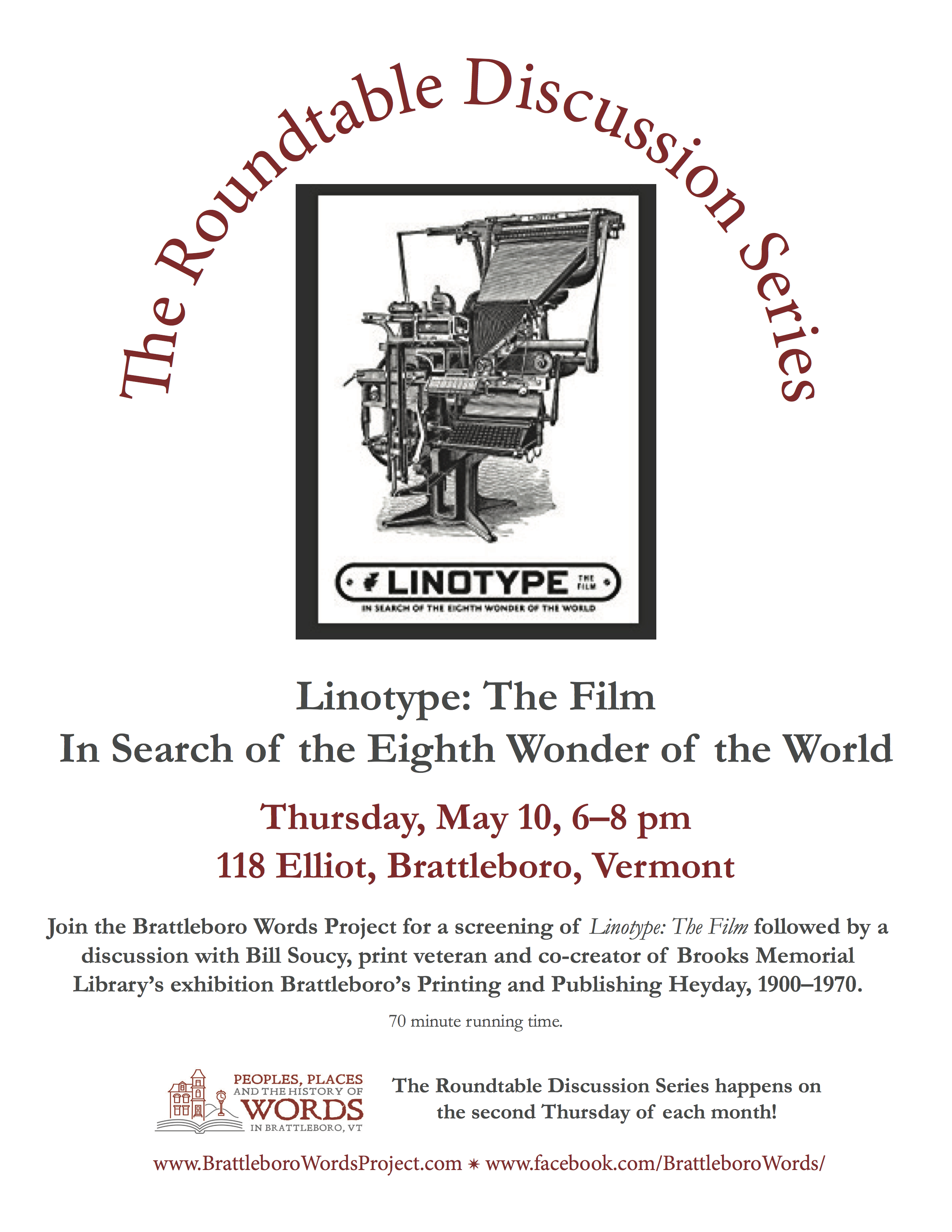 Roundtable Discussions | The Brattleboro Words Project