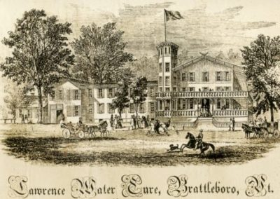 Wesselhoeft Water Cure: Downtown Brattleboro