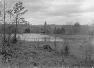 chestnut hill reservoir and Crowell Park and Fresh Air House - 1910
