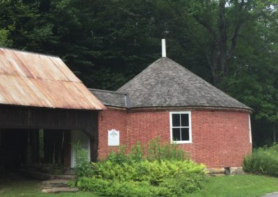 The Round Schoolhouse and the Legend of Dr. John Wilson and Captain Thunderbolt, Brookline, VT