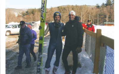 Words Trail Highlights Ski Jumper Memoir and History at Harris Hill