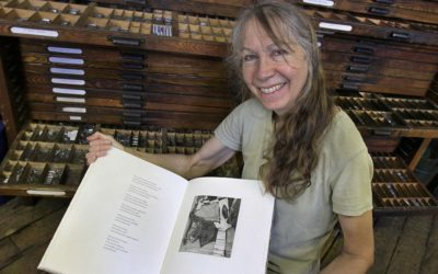 Printmaking, Printing History and Historic Brattleboro Workshop  with Bookmaker Julia Ferrari