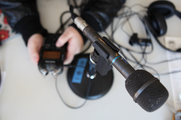 Introduction to Audio Storytelling: Interviewing & Recording