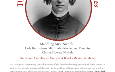 The Roundtable Discussion Series: Meddling Mrs. Nichols