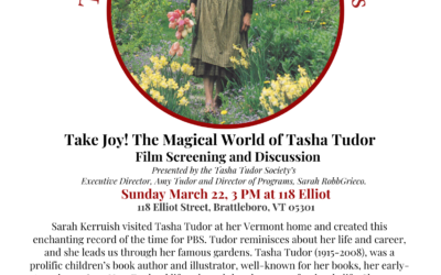 POSTPONED: Take Joy! The Magical World of Tasha Tudor